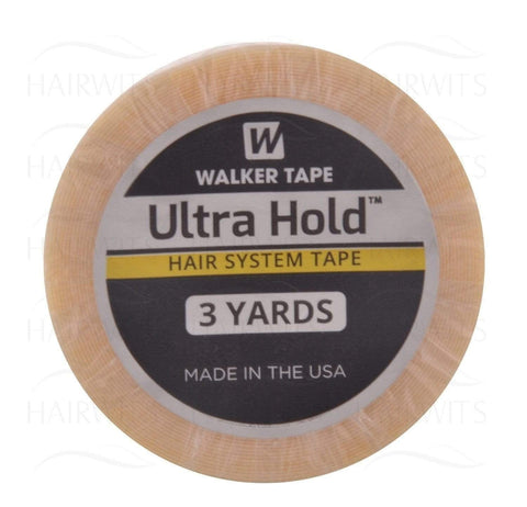 Walker Ultra Hold Tape Roll 1'' -3 YDS -(WKR)