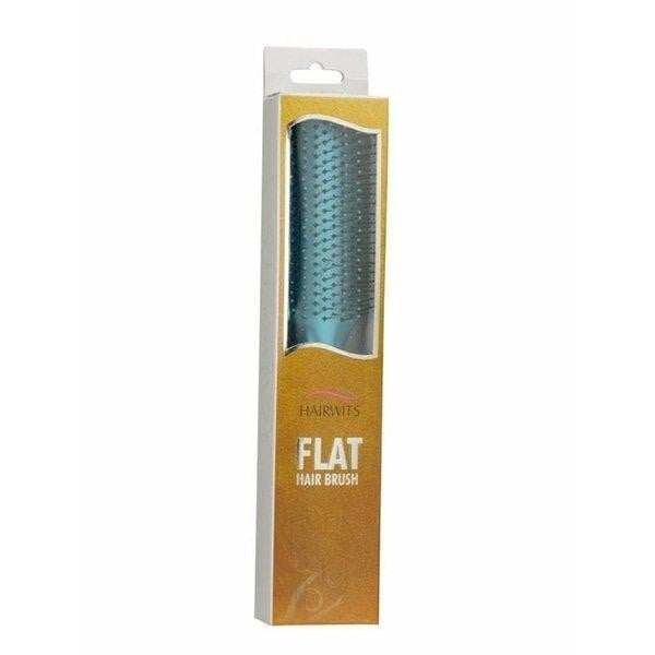 Hairwits Flat Hair Brush- Arctic Blue