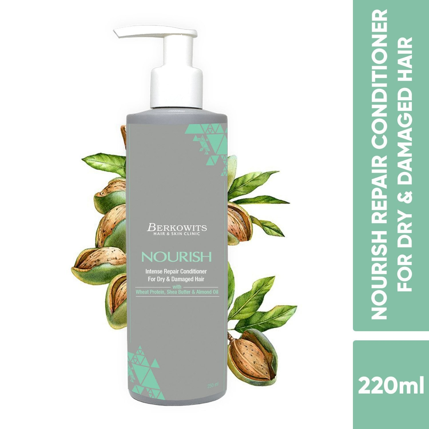 Berkowits Nourish Intense Repair Conditioner For Dry & Damaged Hair
