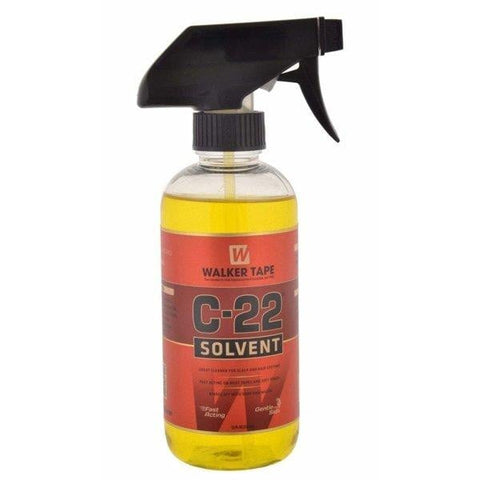 Walker Tape C22 Solvent 12oz Spray For Lace Wigs & Toupees Adhesive Remover