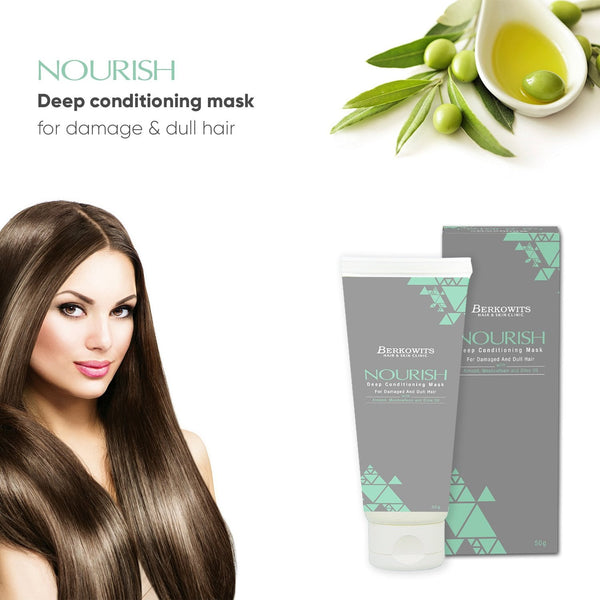 Berkowits Nourish Deep Conditioning Mask for Dry and Damaged Hair