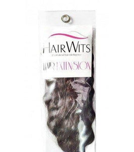 Hairwits Human Hair Extensions- Black-Curly