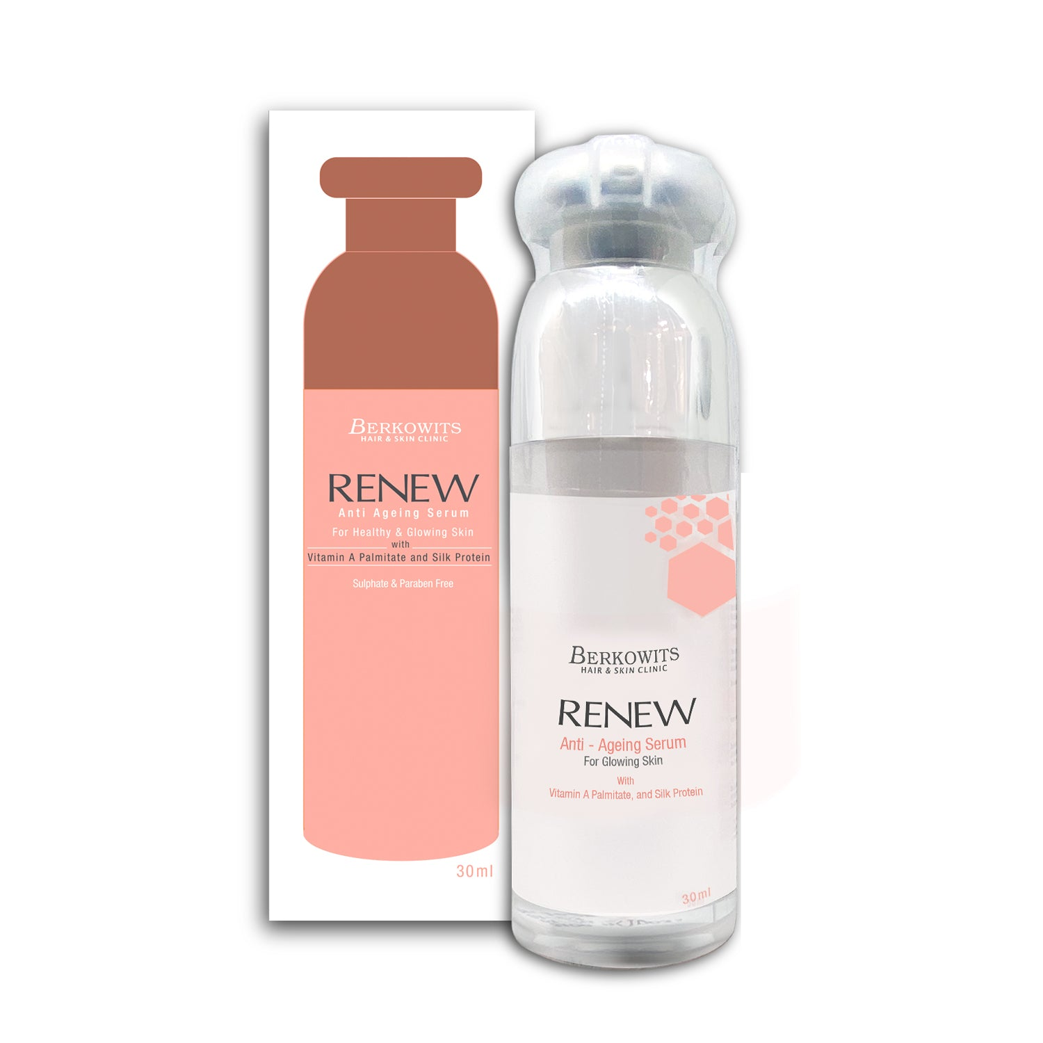 Renew Anti Aging Night Serum with Collagen and Retinol
