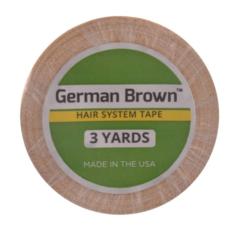 Walker German Brown Liner Cloth Tape Roll - 3 Yards