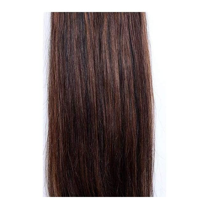 7 Piece Highlights Medium Auburn Hair Extensions