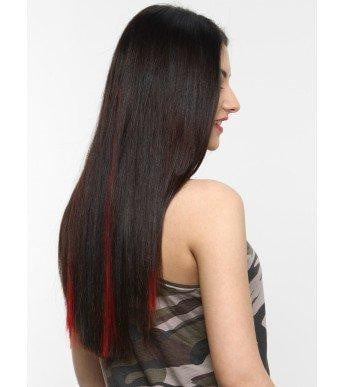 Fiery Red Highlighters Hair Extensions
