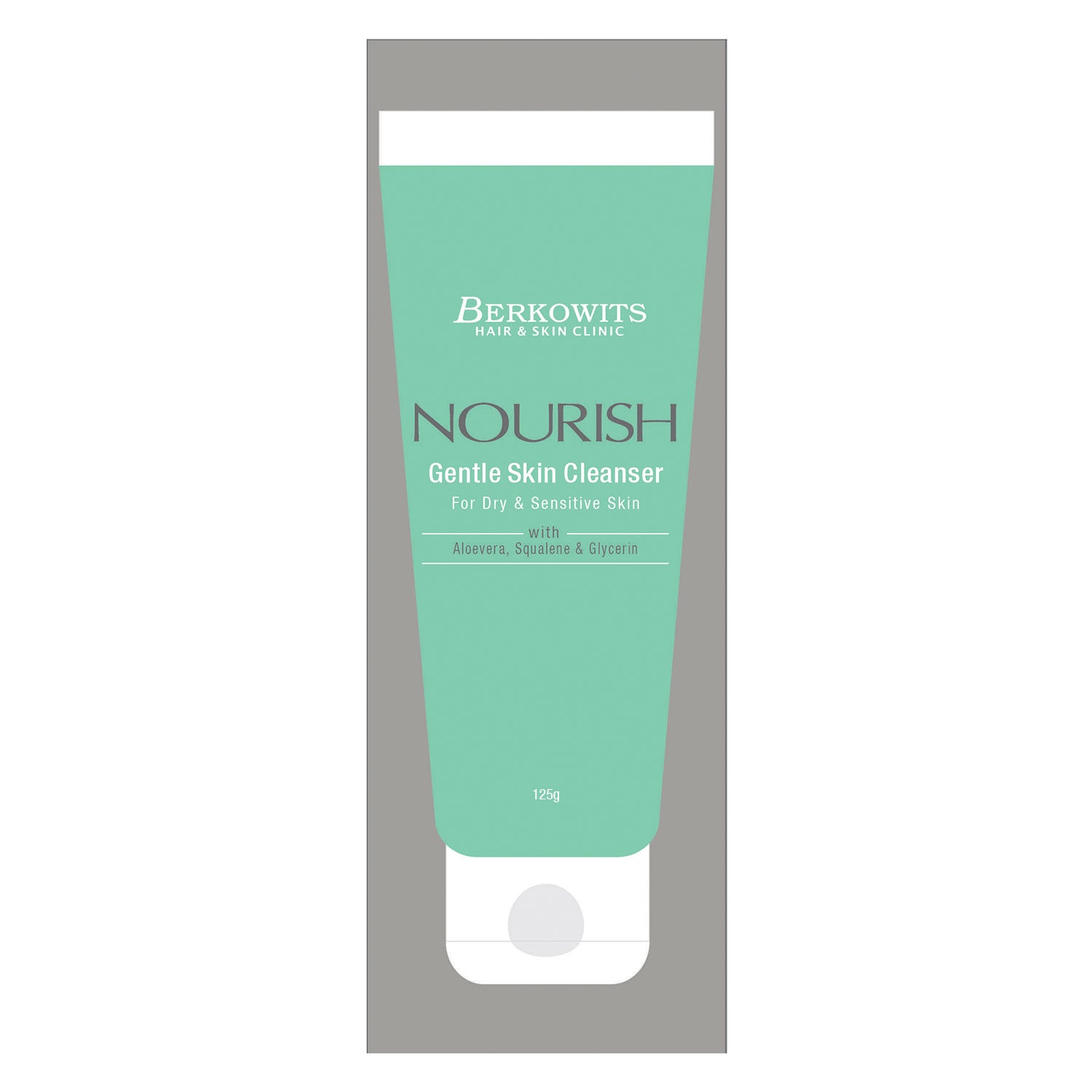 Berkowits Nourish Gentle Skin Cleanser For Dry & Sensitive Skin (125g)