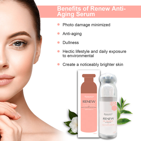 Renew Anti Aging Night Serum with Collagen and Retinol (30ml)