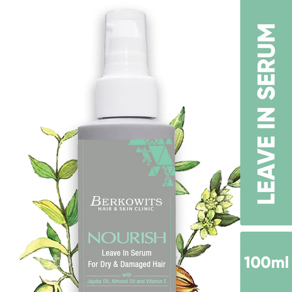 Berkowits Nourish Leave in Serum For Dry & Damaged Hair (100ml)