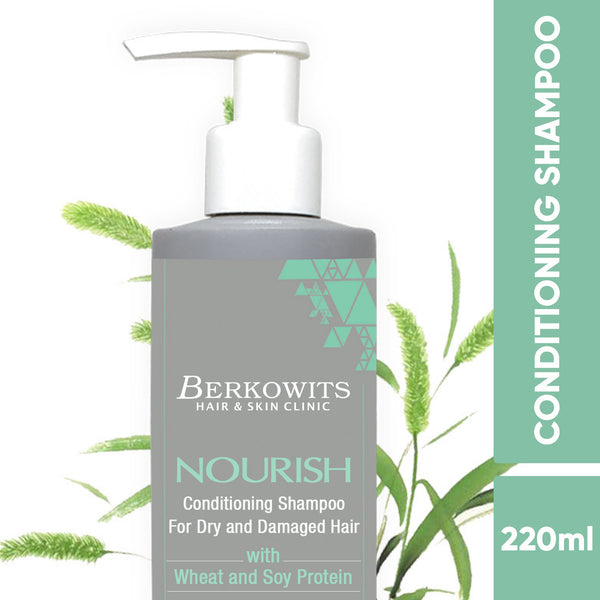 Berkowits Nourish Conditioning Shampoo For Dry And Damaged Hair (220ml)