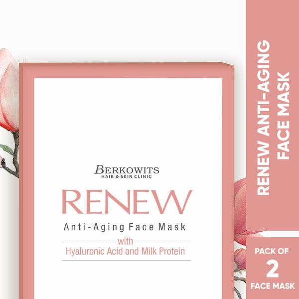 Berkowits Renew Anti Aging Sheet Mask (Pack of 2 sheets)