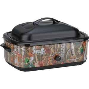 Open Country Camo 18 qt. Electric Roaster Oven