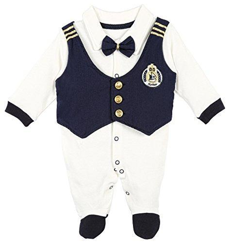 Lilax Sailor Outfit Footie Months