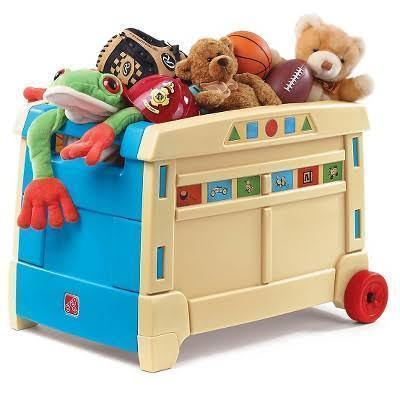 Step2 Lift & Roll Toy Box 700400