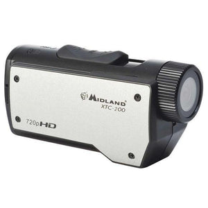 Midland XTC-200 Action Camera - 720p - Black, silver