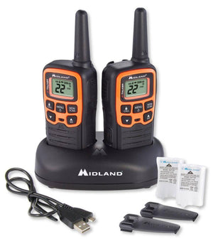 Midland X-Talker T51VP3 22 Channel Two-Way Radios