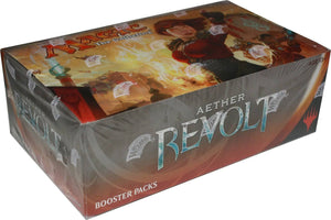 Magic The Gathering Aether Revolt Booster Box Factory Sealed