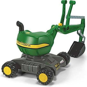 Rolly Toys John Deere Ride-On: 360 Excavator Shovel/Digger