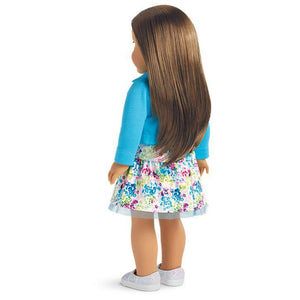 American Girl Truly Me Doll #68 - Brown Eyes, Layered Brown Hair