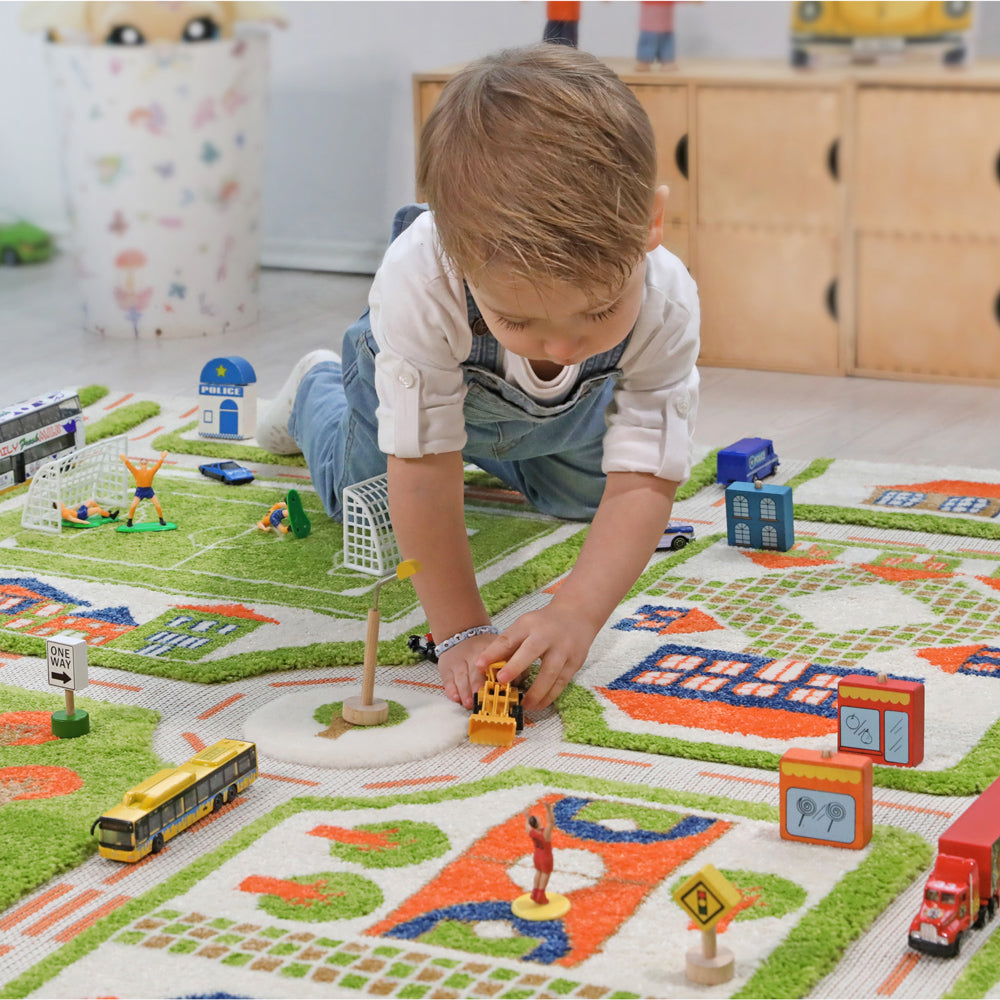 Multi-Dimensional Fun with IVI 3D Play Carpets