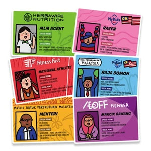 The Malaysian Dream Card Game