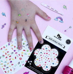 No NASTIES - Assorted Nail Stickers Sheet 2020