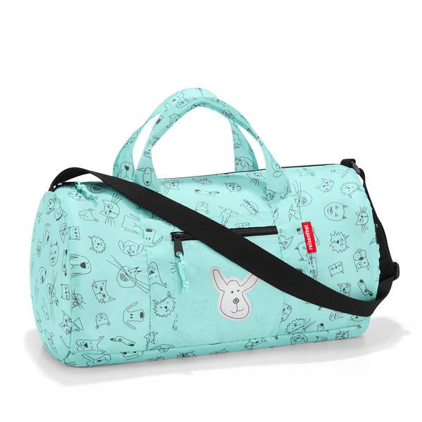 REISENTHEL Mini Maxi Duffle bag S Kids Cats and Dogs Mint