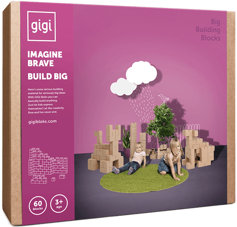GIGI BLOKS 60 giant building blocks