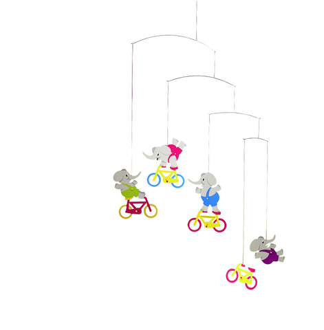 FLENSTED MOBILES Cyclephants