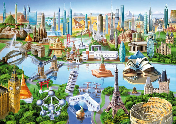WENTWORTH PUZZLES World Landmarks