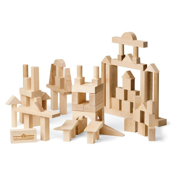 MAPLE LANDMARK Blocks, Advanced Builder, 78 Piece