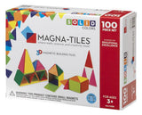 MAGNA-TILES Solid Colors 100 Piece Set