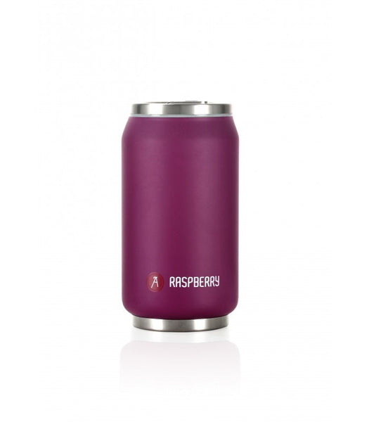 LES ARTISTES Pull Can'it isotherm 280ml Violet mat/Raspberry (8084C) 9,5fl.oz