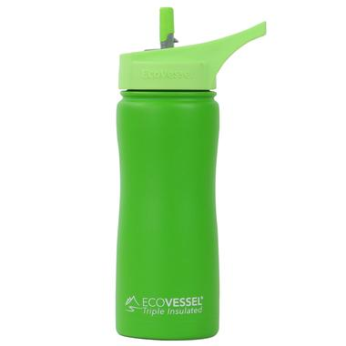 ECOVESSEL Summit - 17oz (500ml) TriMax Triple Insulated Water Bottle with Straw Lid