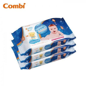 COMBI Kuma Kun Baby Wipes - 20 Sheets x 3 pack