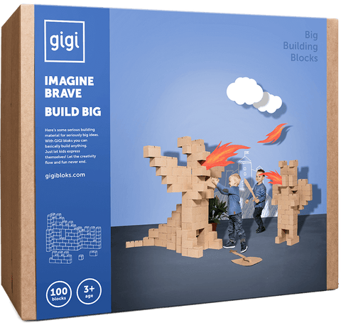 GIGI BLOKS 100 giant building blocks