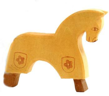 OSTHEIMER Horse for Knight yellow