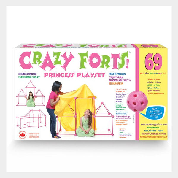 CRAZY FORTS 69 Pc Set - Pink