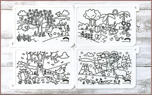 COLOUR ME MATS Celebrating Seasons (Colouring Mat Only)