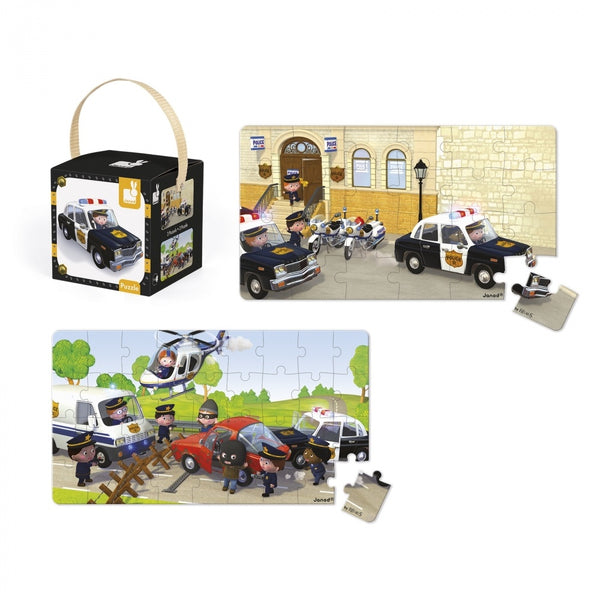 JANOD LOVELY PUZZLES - BRICE'S POLICE CAR