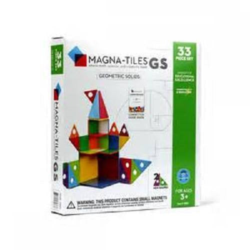 MAGNA-TILES 33 Piece GS Set and Connection Guide