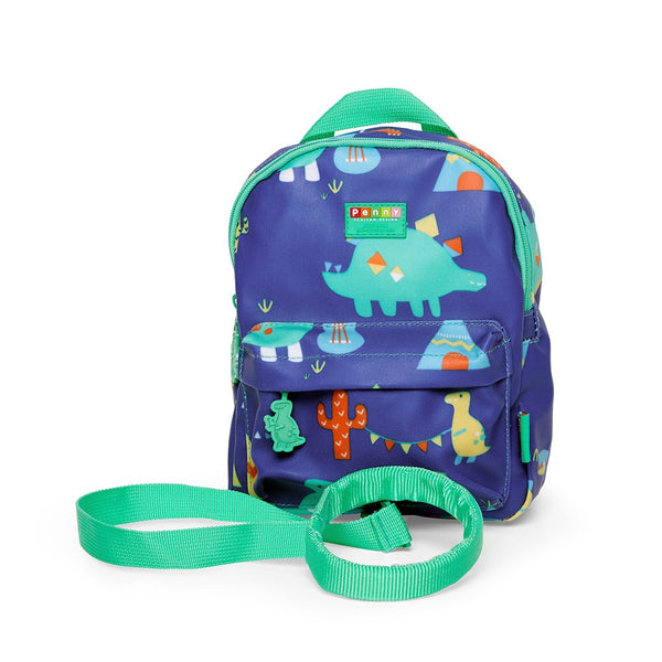 PENNY SCALLAN Mini Backpack with Rein Dino