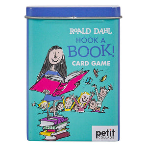 PETIT COLLAGE Roald Dahl Matilda Hook-a-Book Card Game