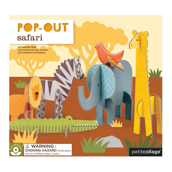 PETIT COLLAGE Safari Pop-Out