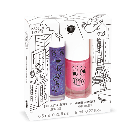 NAILMATIC KIDS -  Duo Set - Lovely City - Rollette Nail Polish