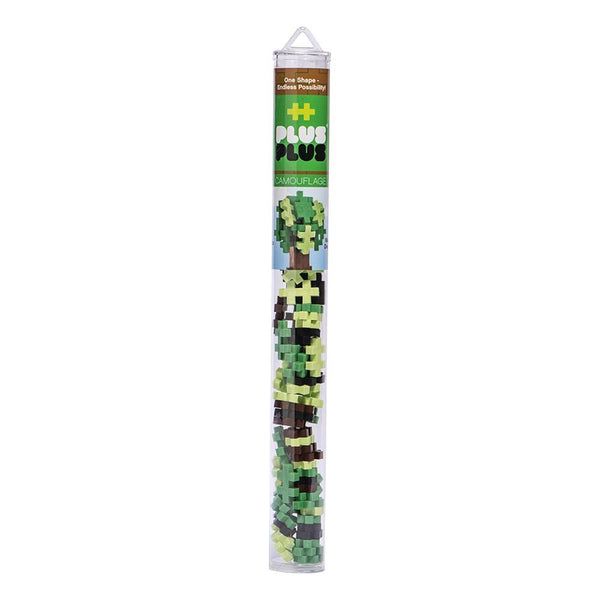 PLUS PLUS Tube Mini Camouflage - 100pcs