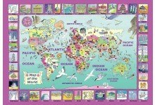 WENTWORTH PUZZLES World Map Puzzle