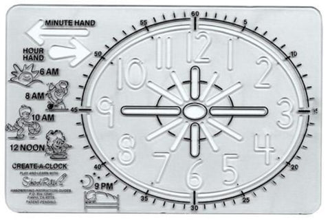 SCHOOL-RITE Create-A-Clock