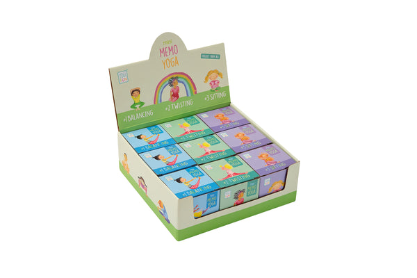 YOGI FUN Mini Memo Party Pack of 9