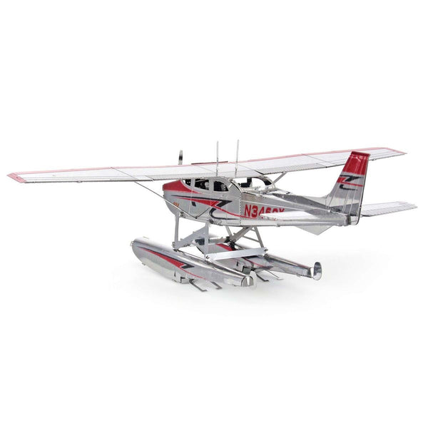 METAL EARTH Cessna 182 Floatplane - NEW